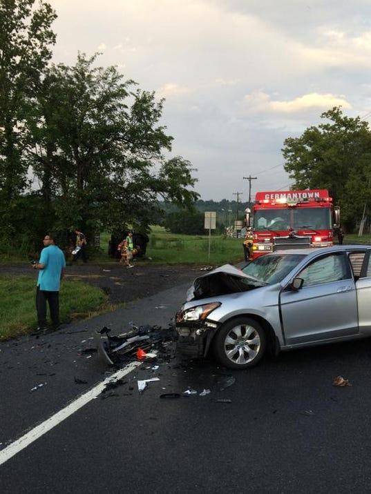 Darnestown Road Car Accident