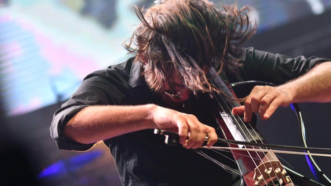 """The cellist duo """"2Cellos"""" plays two shows at the Fox Theatre on Feb. 23."""