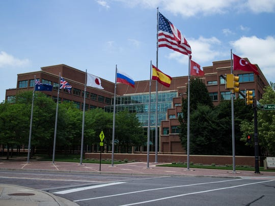 Kellogg Company headquarters is located in downtown Battle Creek.