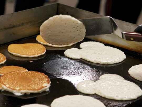 This is the 61st year for the University Kiwanis Club's popular pancake festival. More than 10,000 breakfast gourmands attended last year's event.