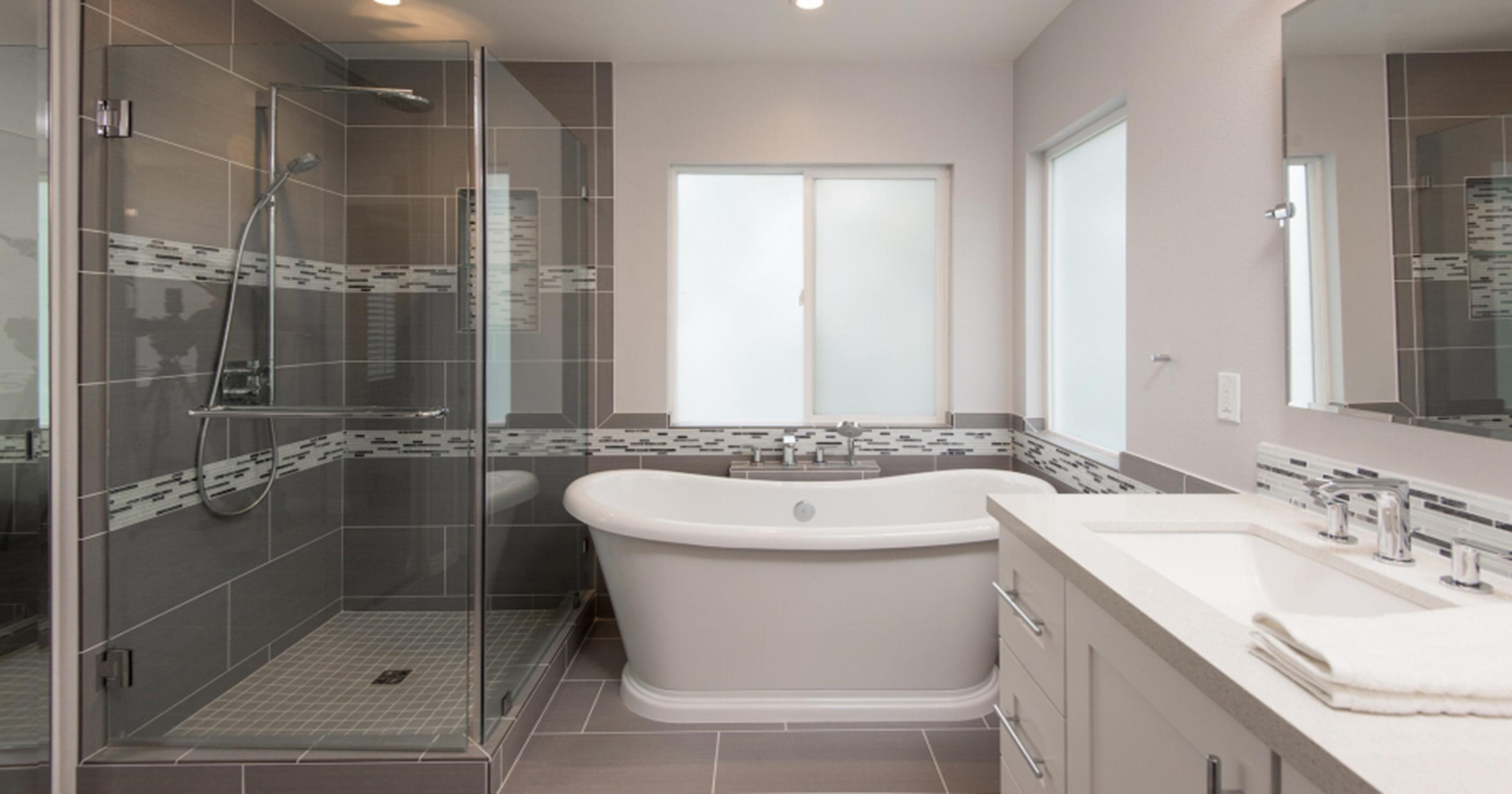 How much does bathroom tile installation cost for How much to tile a small bathroom