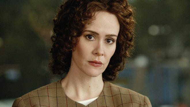 Sarah Paulson as embattled prosecutor Marcia Clark in FX's 'The People vs. O.J. Simpson: American Crime Story'