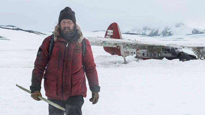 """Mads Mikkelsen in the film, """"Arctic."""" (Stefano Baroni)"""