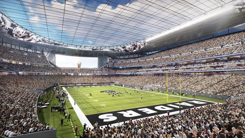 Las Vegas Raiders New Stadium Take A Look Inside Allegiant Stadium