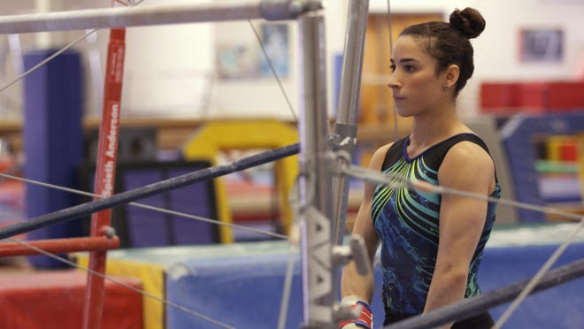 "Gymnast Aly Raisman in ""Gold Medal Families."""