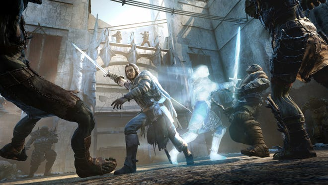"A ranger, Talion, invades an orc fortress in ""Middle-earth: Shadow of Mordor."""