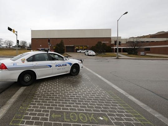 bomb scare at West Allis Central High School March 9