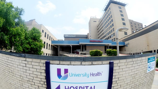 University Health operates safety net hospitals in Shreveport and Monroe.