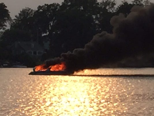 Fire destroys boat on Lake Mahopac 5