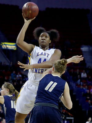 Sydnee Roby, an all-state pick last season, will try to lead Milwaukee King back to the state tournament this season.
