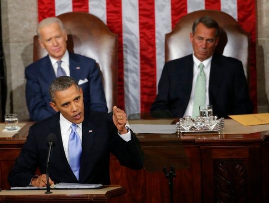 AP STATE OF UNION A FILE USA DC