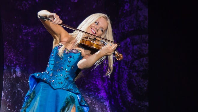 Fiddler Mairead Nesbitt and the group Celtic Woman are set to perform at 7:30 p.m. Friday at Downtown's Plaza Theatre.