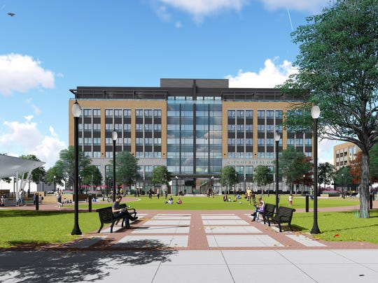 Another view of the proposed Royal Oak City Center, or ROCC for short.