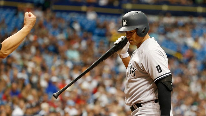 Alex Rodriguez is batting just .206 with the Yankees this season.
