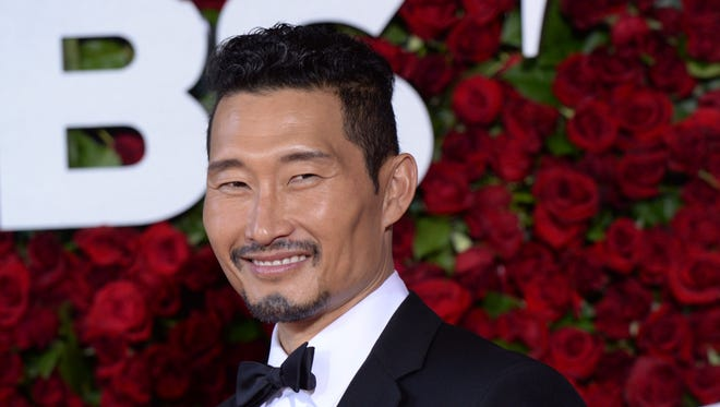 Daniel Dae Kim arrives at the Tony Awards at the Beacon Theatre in New York on June 12, 2016.