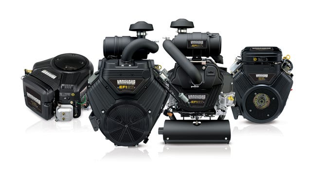 These Vanguard V-Twin commercial lawn cutting engines will be manufactured in the Briggs & Stratton Corp. factories in Statesboro, Ga., and Auburn, Ala. The company is shifting the production of the engine line from Japan to its plants in the South.