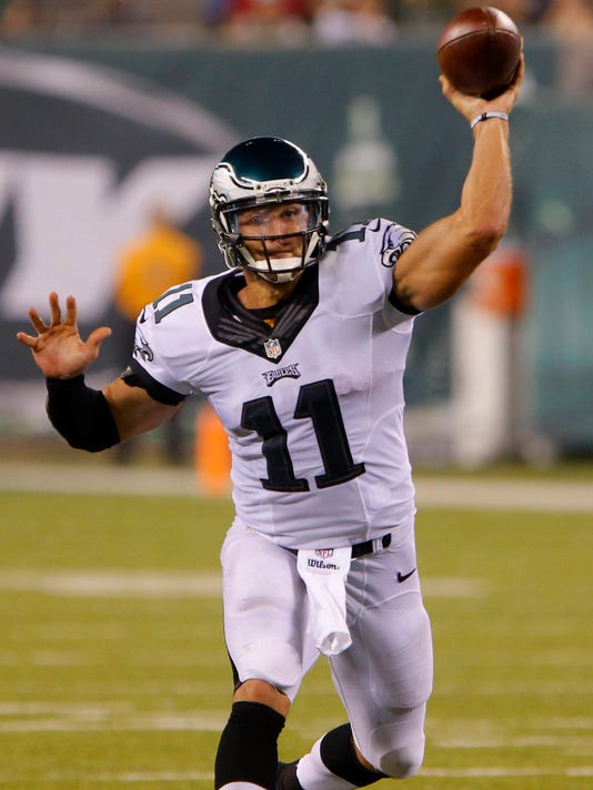 USP NFL  PRESEASON-PHILADELPHIA EAGLES AT NEW YORK S FBN USA NJ.  Philadelphia Eagles quarterback Tim Tebow ... 9d4560984