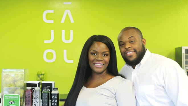 Owners Adenike and Curtis Johnson opened CaJuoL in Lehigh Acres 2 years ago and recently moved the restaurant to a new Fort Myers location.