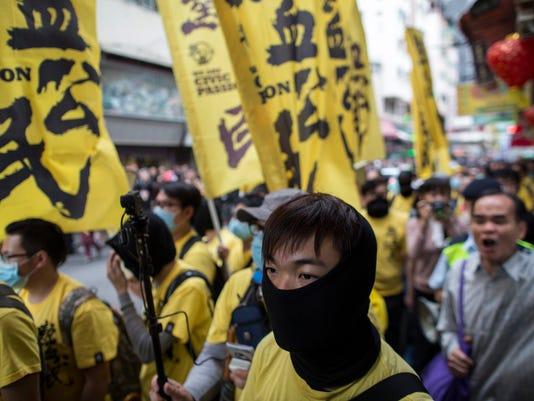 EPA CHINA HONG KONG OCCUPY POL CITIZENS INITIATIVE & RECALL CHN HO