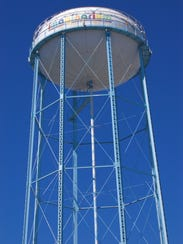 The IMAG History & Science Center's iconic water tower