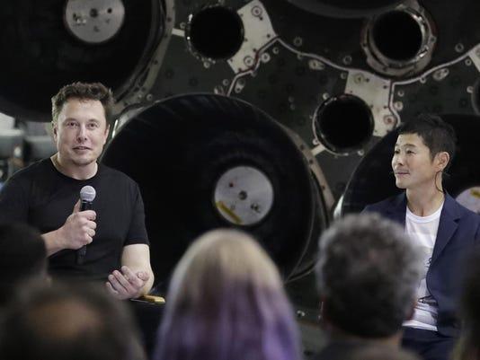 Elon Musk, Yusaku Maezawa