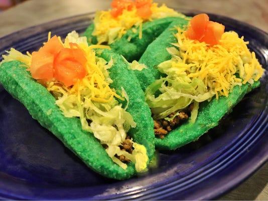 Green tacos
