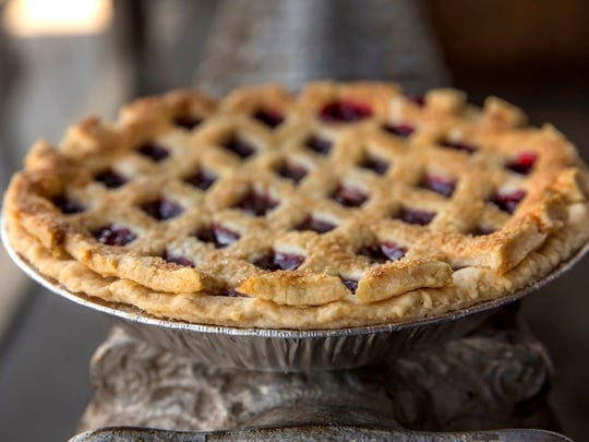 Buttermilk Sky Pie's cherry pie is one of the shop's seasonal flavors.