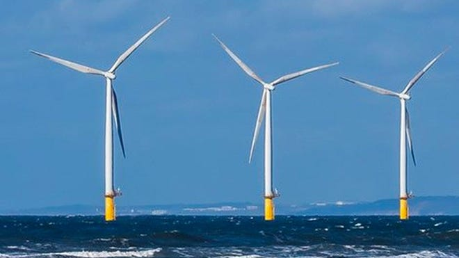 The coalition predicts that as wind development moves forward in coming years, the costs of offshore installations will fall, and New England's old coal and oil power plants will be unable to compete.