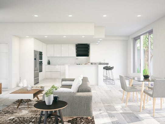 Contemporary homes often feel large, thanks to open