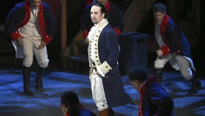 "The Broadway musical ""Hamilton"" is among the boycott targets in our hyper-partisan environment."