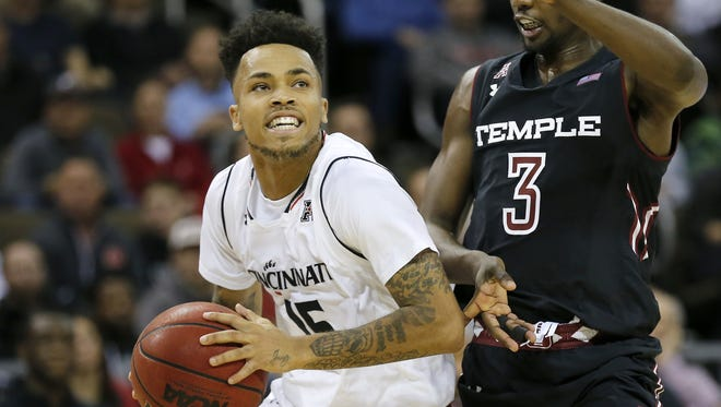 Cane Broome and his University of Cincinnati teammates can clinch the AAC title outright with a win at Wichita State on Sunday.