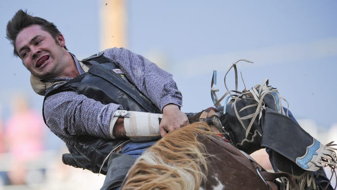 An image from the Reno Rodeo on Friday, June 28, 2013.