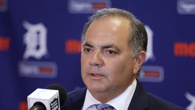 Detroit Tigers Executive Vice President and General Manager Al Avila.
