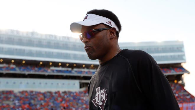 Kevin Sumlin is the new coach of the Arizona Wildcats.