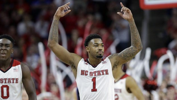 Former Alabama guard Trevor Lacey leads N.C. State into the NCAA Tournament.