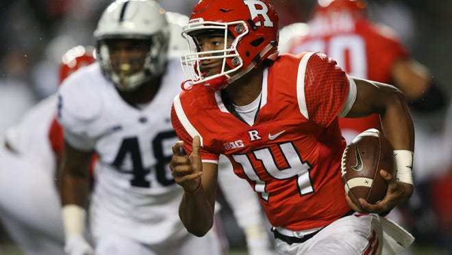 Quarterback Tylin Oden and Rutgers had no where to run and nowhere to hide on Saturday night in Piscataway.