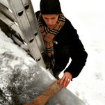 Stay safe and warm with snow, ice removal tips