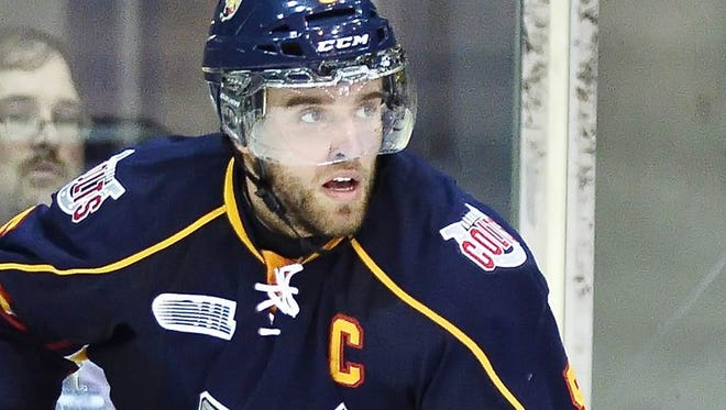 """Barrie defenseman Aaron Ekblad is a """"building block for any team,"""" said Dan Marr, director of NHL's Central Scouting."""