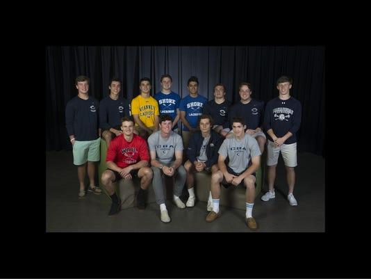 2018 All-Shore Boys Lacrosse Team
