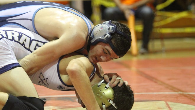 Oasis Charter senior Greg Krempski won his first region tile last week and is chasing a Class 1A state championship at 138 pounds Friday and Saturday at Silver Spurs Arena in Kissimmee.