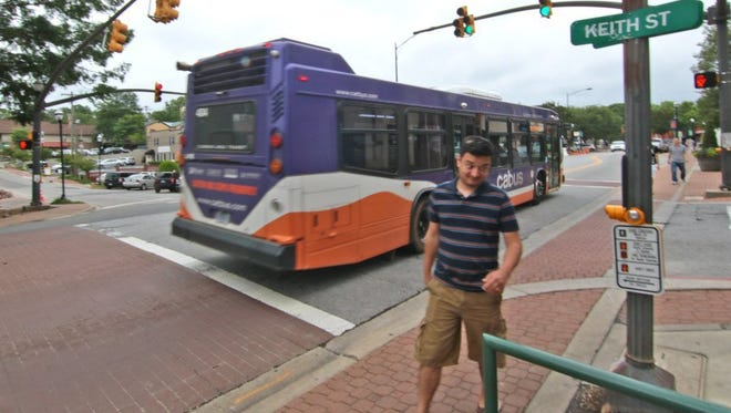 Clemson University students use CAT buses to get around campus and away from campus. CAT officials want to speed up the popular Red Route, which they believe could increase ridership by over half in a couple of years.