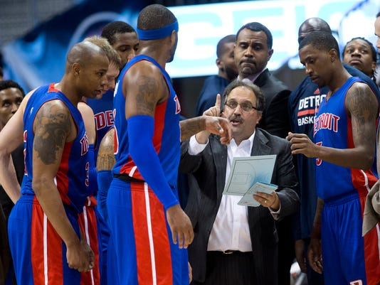 Stan Van Gundy, Kentavious Caldwell Pope, Josh Smith