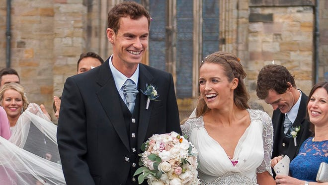 Andy Murray has been playing lights out since he got  married.