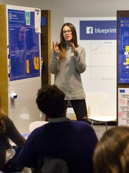 Abrams facebook blueprint is a small biz social media learning tool a blueprint live event in boston malvernweather Images