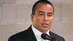 Phoenix Councilman Daniel Valenzuela speaks about Phoenix's