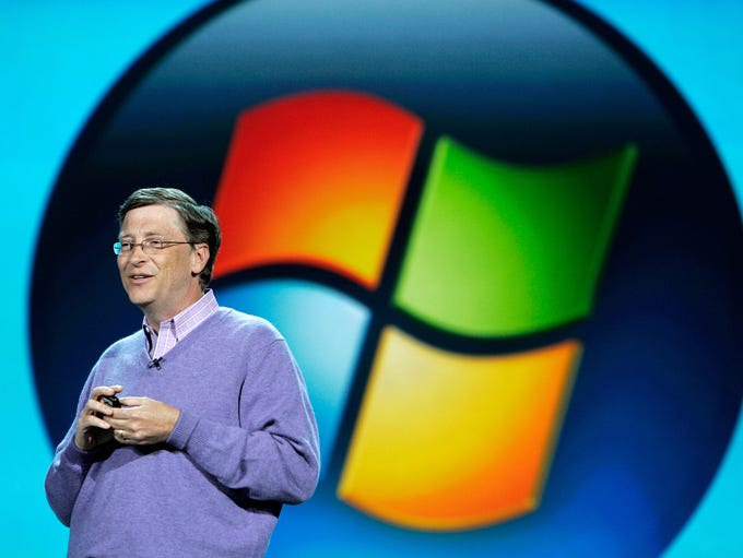2000 was Bill Gates' last year as CEO of Microsoft,
