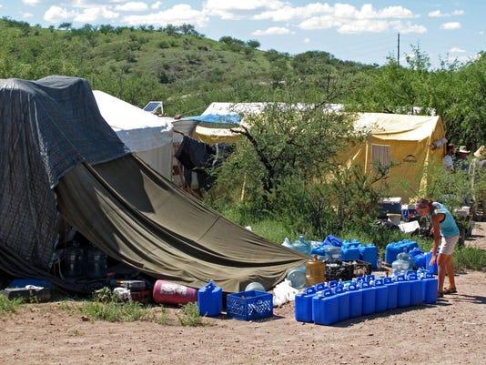 Border Patrol Raid