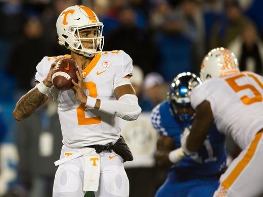 Tennessee football: Jarrett Guarantano on being a veteran ...