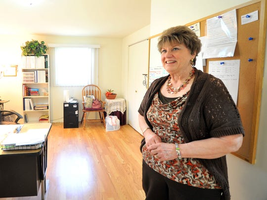 Interim HealthCare President Jan Kocha stands in the office in Goldenrod Home in Rib Mountain on Monday, May 4, 2015, after the residents have moved to other facilities.