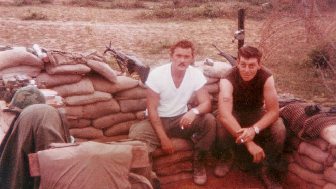 Army Cpl. James Castaldi, right, died in an ambush attack during the Vietnam War in 1968. Fellow machine gunner William Port was severely wounded, died as a POW and later was awarded the Congressional Medal of Honor.